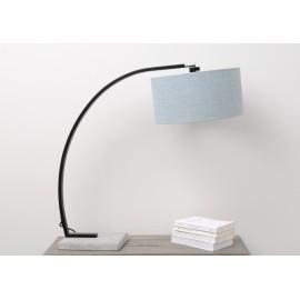 Lampe Harchi béton gris bleu