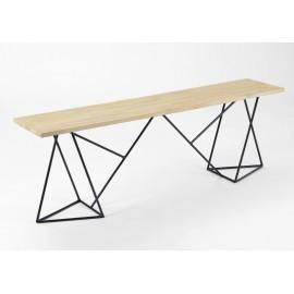 banc tr teau design. Black Bedroom Furniture Sets. Home Design Ideas