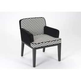 Fauteuil Chevrons Klub