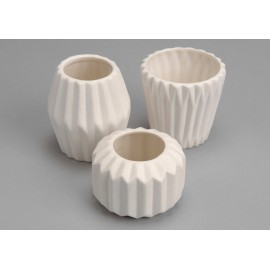 Set 3 vases Origami