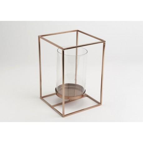 photophore design cuivre pomme d amour. Black Bedroom Furniture Sets. Home Design Ideas